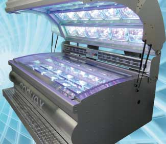 Convex High Pressure Tanning Bed